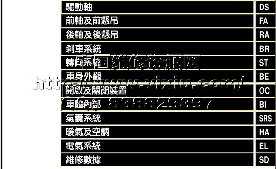 郑州日产c24御轩原厂维修手册详细资料高清图片